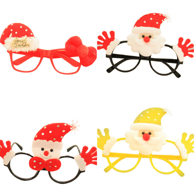 Santa Funny Children\'s Adult Glasses Frames Christmas Fancy Dress ...