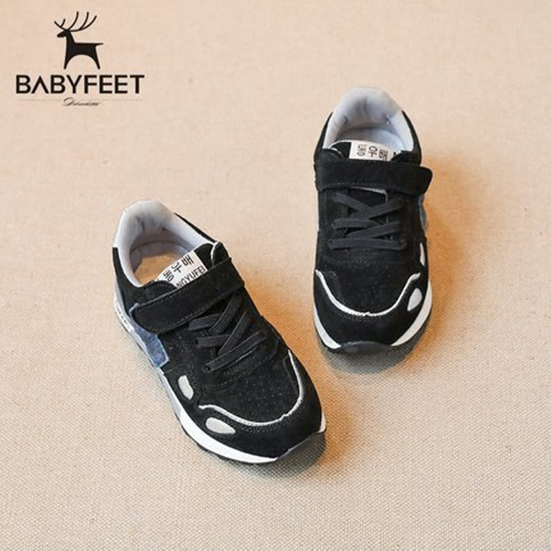 Brand Babyfeet High Quality Fashion Children Shoes Breathable leisure Running kids Sports shoes baby Girls Boys Sneakers 26-30 children s shoes boys and girls ultralight casual sports shoes children fashion sneakers mesh fabric breathable travel shoes