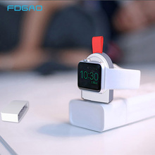 FDGAO Portable Wireless Charger For Apple Watch Charging Pad Fast USB Magnetic Mini Charger For Apple Watch Series 1 2 3 4 все цены