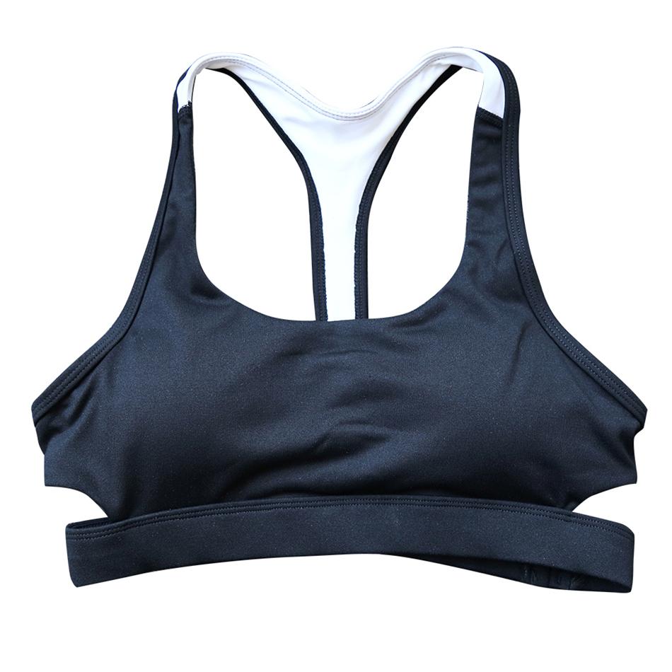 Oyoo-Women-s-Black-White-Medium-Impact-Sports-Running-Bra-Wirefree-Racerback-Fitness-Yoga-Bra-Training (4)