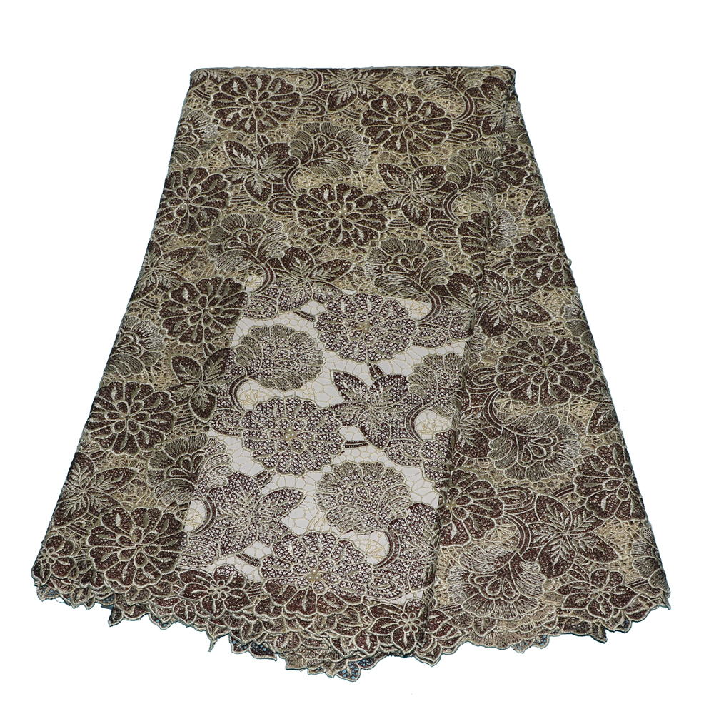 guipure lace fabric 2019 Unique New african cord lace fabrics with   wedding cord lace 5yards high qualityguipure lace fabric 2019 Unique New african cord lace fabrics with   wedding cord lace 5yards high quality