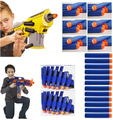 500PCS/Lot Nerf N-strike Elite Rampage Retaliator Series Blasters Refill Clip Darts Electric Toy Paintball Gun Soft Nerf Bullet