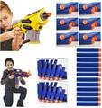 500PCS/Lot Nerf N-strike Elite Rampage Retaliator Series Blasters Refill Clip Darts Electric Toy Paintball Gun Soft Nerf Bullet