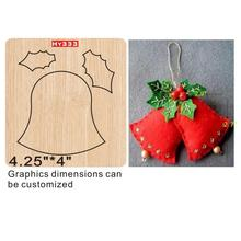 Christmas bell  cutting dies 2019 die cut & wooden Suitable for common machines on the marke