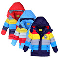 New Winter Children Boy Girls down Jacket winter parkas Outerwear snow Coats Cotton Good Quality Baby Kids warm Clothes for Boys
