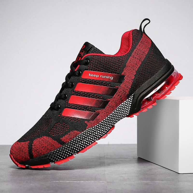 Chaussures Trainers Mesh-Sneakers Tennis-Shoes Air-Cushion Outdoor Men Homme Breathable