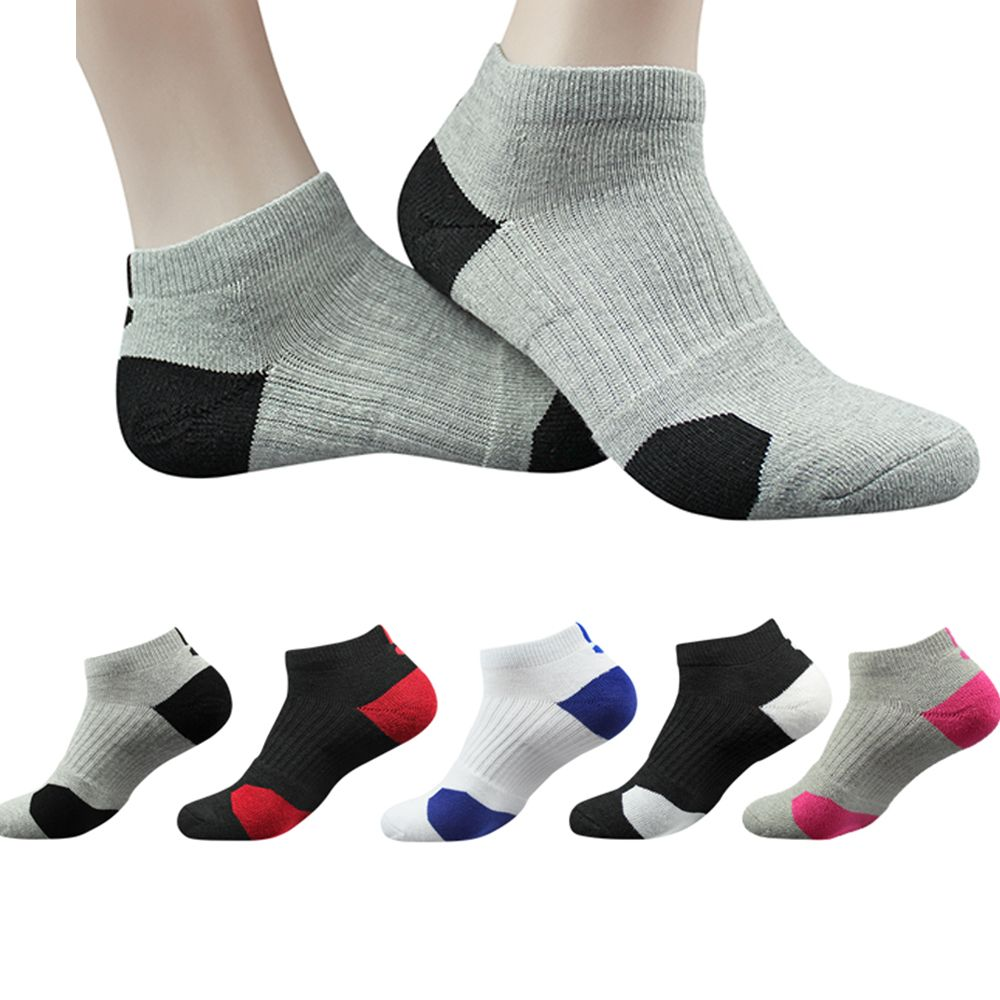 Men's Running Short Socks Cotton Thick Towel Bottom Boat socks Outdoor Sports Breathable Ankle Socks