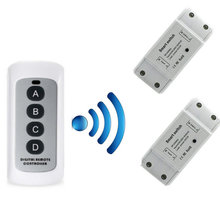 433MHz Lamp Wireless Remote Control Switch ON/OFF Remote Control Receiver Transmitter For Smart Home DIY Receiver new arrivals ac100v 240v touch switch receiver operating frequency 50 60hz wireless receiver used for smart remote touch switch