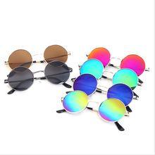 2016 Nova da criança Do Vintage UV400 óculos de lente Em Policarbonato  Óculos De Sol Meninos e726782ffa