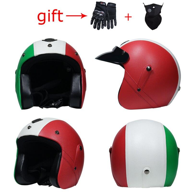 2018 motorcycle helmet 3 4 retro helmet harley motorcycle. Black Bedroom Furniture Sets. Home Design Ideas