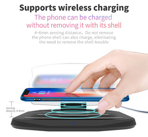 Image 2 - 2in1 HUD Car Wireless Charger Mount Car Phone GPS Navigation Holder Stand Projector Bracket Support QI Fast Charging for iPhone
