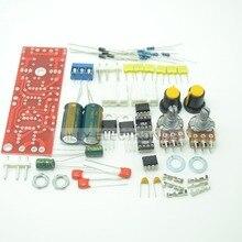 Фильтр низких частот предусилитель AC 12-15 В DIY Kit Dual сабвуфер подключен