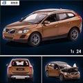 Envío Libre estrella de aleación de modelos de Automóviles de Aleación de Simulación Al Por Mayor de Gran Escala Volvo XC60 1:24 coche de juguete genuino 41600