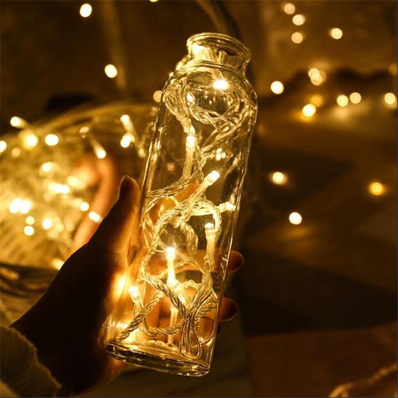 20 м RGB светодиодный свет шнура Рождественские огни Крытый Открытый елку украшения 160 светодиодный s Водонепроницаемый Праздник Гирлянда фея... ...