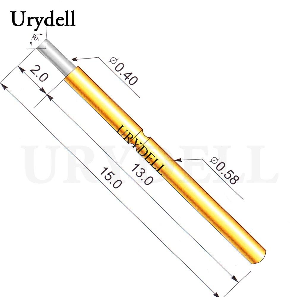 100pcs lot P058 A1 Dia 0 4mm Spring Test Probes Pogo Pin Length 5 0mm 70g