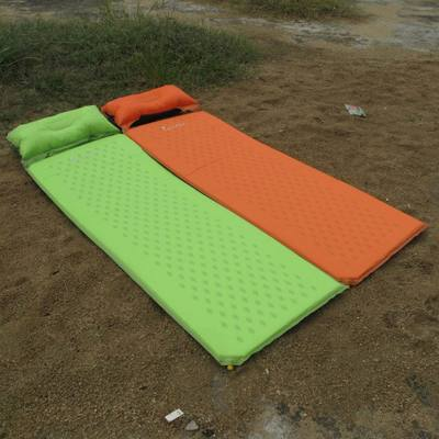 ФОТО Outdoor Travel Camping Mat Folding Tent Bed Sleeping Pad Inflatable Mattress Portable Dampproof Cushion Airbed Camping Equipment