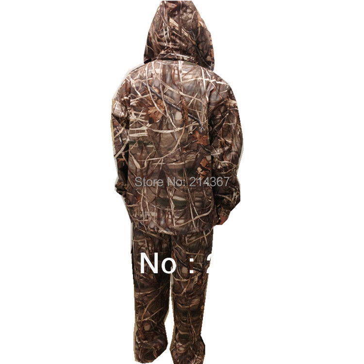 Brown Reed Camouflage Pattern Hunting Clothing for Duck Shooting Game Suits reed swaying pattern large wall stickers for bedrooms