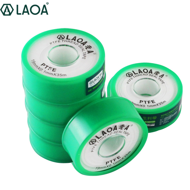 LAOA Faucet Hose Belt Threaded Sealing Tape Teflon Material Tape With Seal Thickened Waterproof Insulating Tape