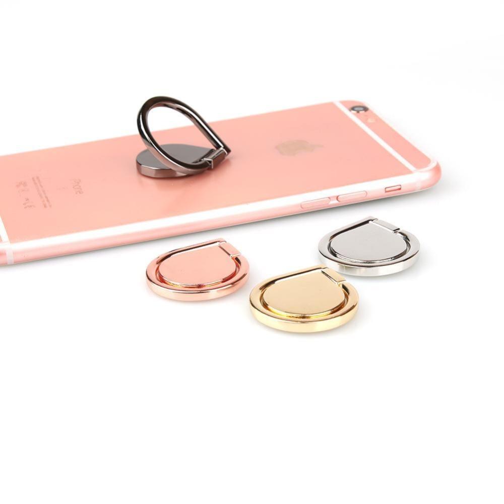 Water Droplets Universal Metal Finger Ring Mobile Phone Smartphone Car Mount Bracket Stand Holder For IPhone Samsung