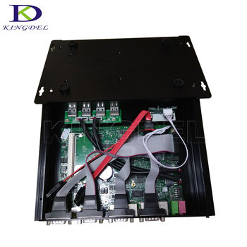 Intel Core i5 3317U Industrial PC 1007U Fanless Mini PC Windows 10 TV Box HDMI 4 RS232 Dual NIC 2*LAN 8*USB WiFi Rugged Computer