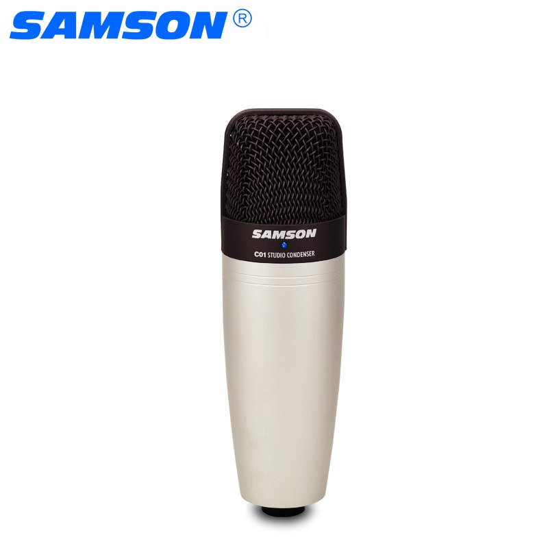 100% Original SAMSON C01 Condenser Microphone for recording vocals, acoustic instruments and for use as and overhead drum mic(China)