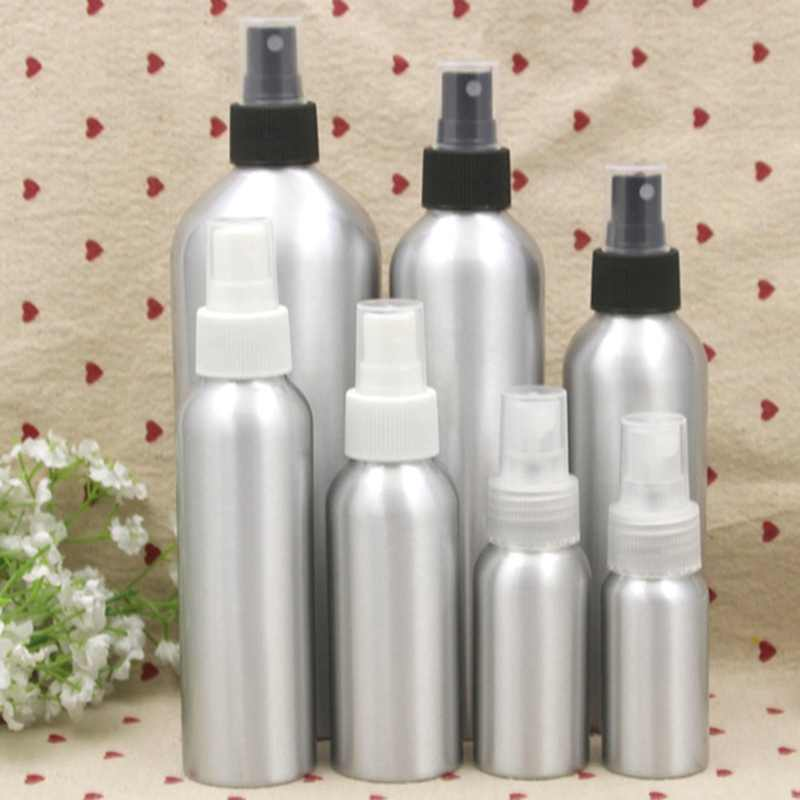 Aluminum Perfume Bottle With Spray Mini Portable Empty Refillable Perfume Atomizer Spray Bottle Sub-bottle
