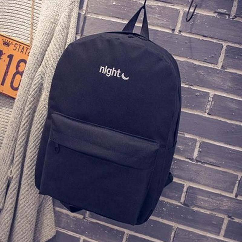 2017 New Day and night Backpacks women bagpack men School Bag For Teenagers Girl Boy Lovers Student Book Bag Mochila Back pack