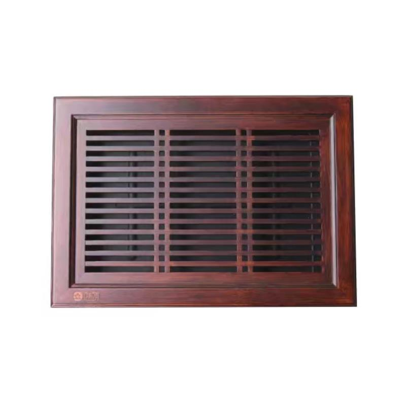 """""""King Tea Mall"""" Bamboo Tea Tray with Plastic Water Tank  L37*W26*H7cm  Teasaucers  Teaboards  for Chinese Gongfu Cha  Teawares 