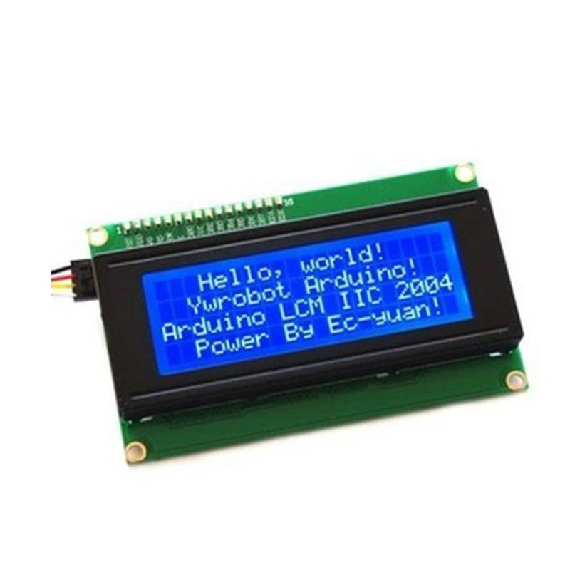 IIC/I2C + LCD Board 2004 20*4 20X4 5V Blue screen LCD2004 display module for arduino 3d printer parts