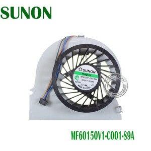 Novo original cpu gpu ventilador de refrigeração para hp elitebook 8570 w 8560w cpu ventilador cooler MF60150V1 C001 S9A 690630 001 690629 001 690628 001 001|hp fan|hp cpu fan|fan hp -