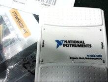 Per la nuova carta usata di DAQ dellacquisizione dei dati di USB 6009 della società del NI degli stati uniti 90% invia la scatola ed il CD del NI