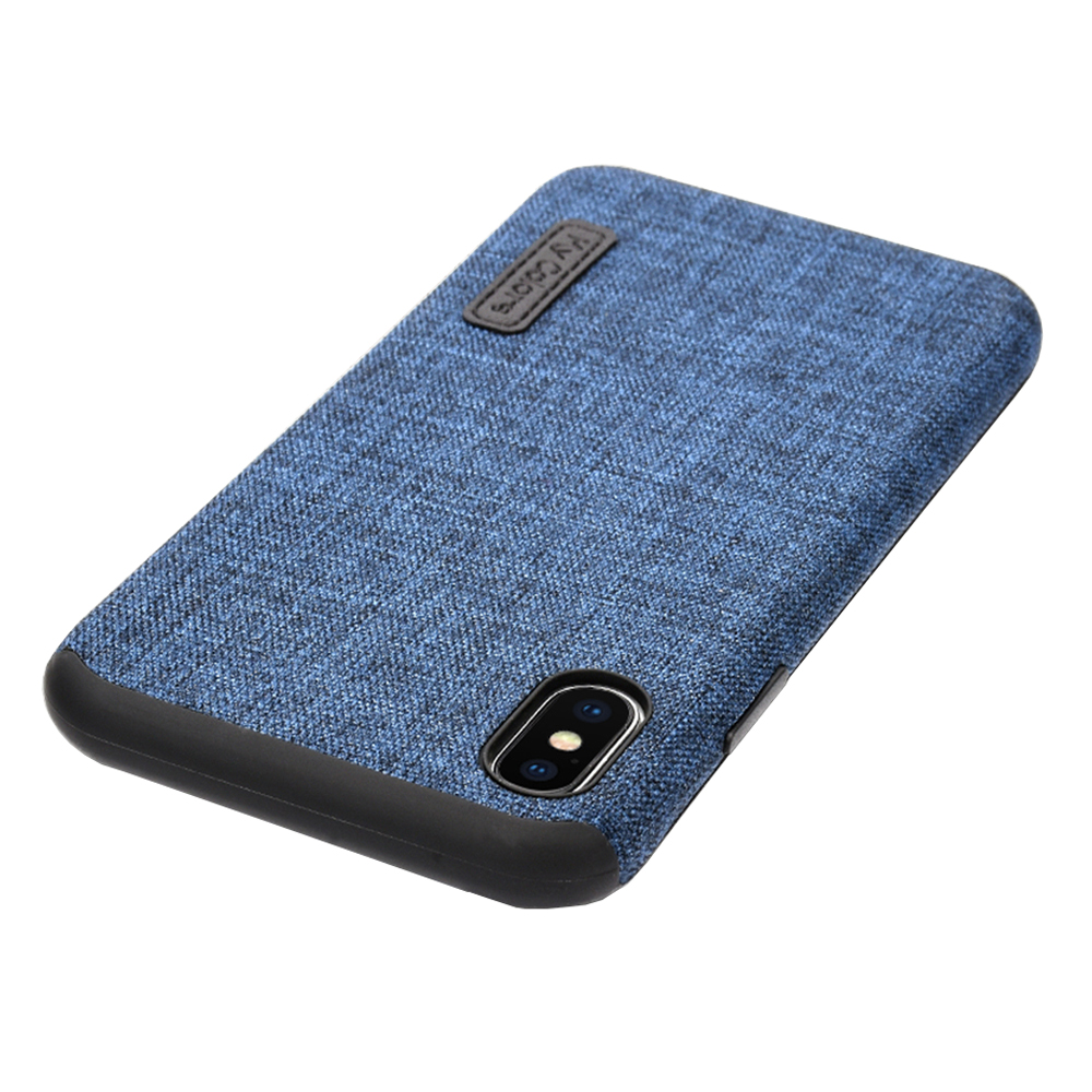 MLLSE Cloth Case For iPhone X Fashion Linen Cloth & Soft TPU Silicone Anti-knock Cover For iPhone 10 Shockproof Protective Funda (9)
