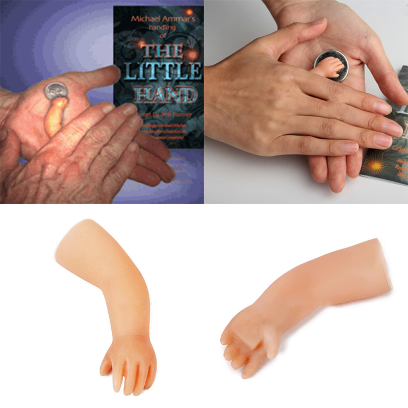 Scary Tiny Small The Little Hand Magician Magic Trick Toys Props ...