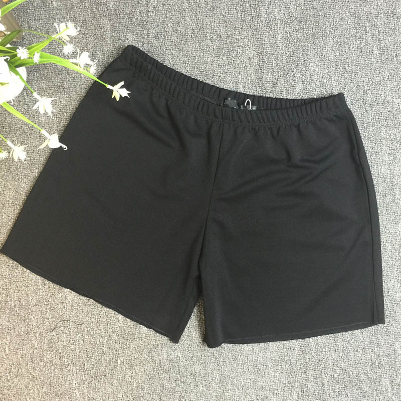 2 Pcs/Lot Shorts Women Plus Size Casual Loose Stretched Elastic Shorts Black FH198