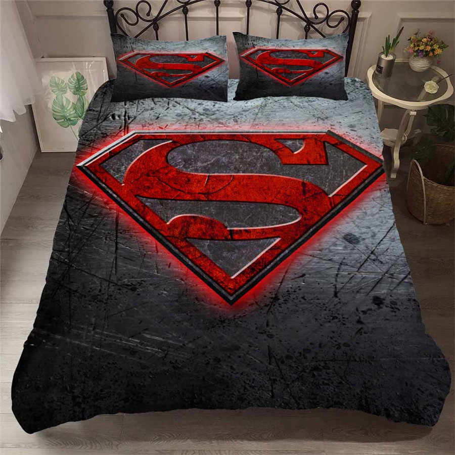 Justice League 3D printed bedding set iron Man The Flash ...