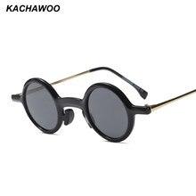 Kachawoo rodada do vintage óculos de sol para homens black white leopard retro  pequenos óculos de sol para as mulheres verão 201. 36b0ec6815