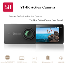 YI 4K Action Camera 2 International Edition Ambarella A9SE Cortex-A9 ARM 12MP CMOS 2.19″ 155 Degree EIS LDC WIFI