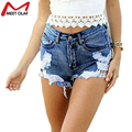 Women Lace Denim Shorts Female Casual Hollow Out Jeans Shorts Fitness Hole Shorts 2016 Fashion YL623