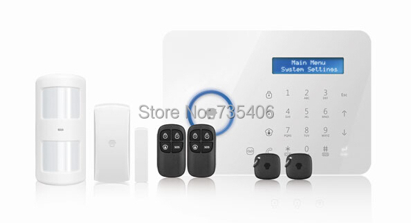 Big discount LCD display  B11 GSM And PSTN Alarm system Home Security Alarm system Smart Home Alarm