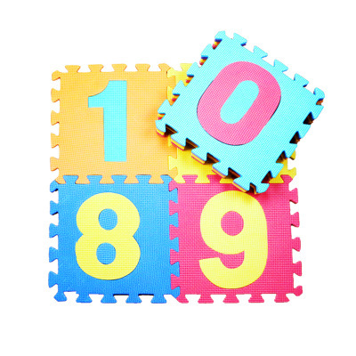 10 sztuk liczba zwierząt wzór pianki Puzzle dzieci dywan dywan Split wspólne EVA dziecko mata do zabawy kryty miękkie aktywności maty do puzzli
