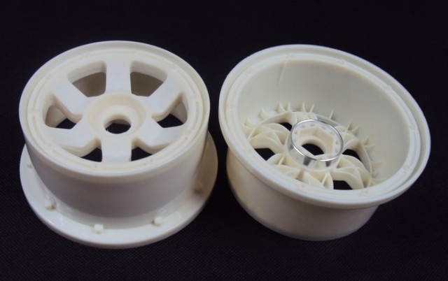 Rovan part 1/5 scale gas rc baja tyre part Baja 5T SC High strength nylon wheel hub set