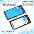 1 пьеса шатона средний панель для sony Xperia Z2 L50w D6503 средний рама