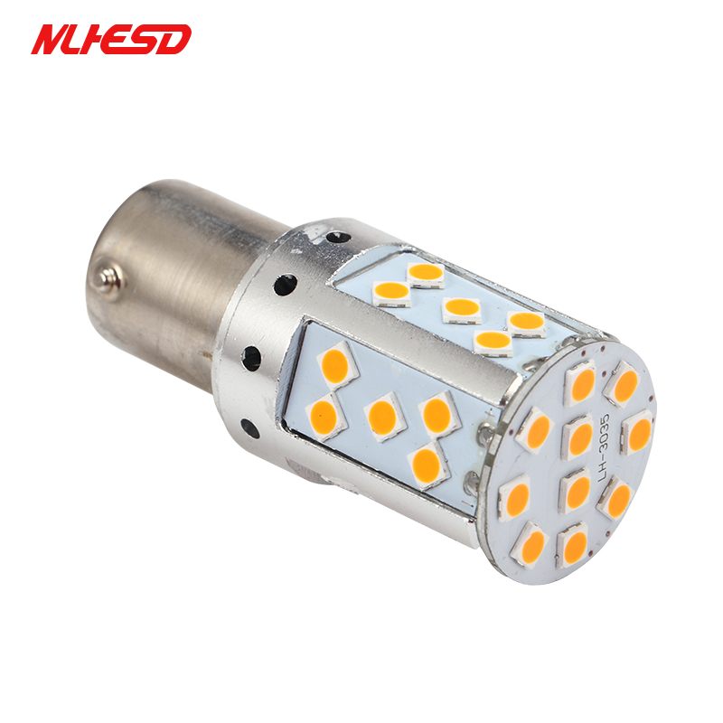 10 шт. <font><b>BAU15S</b></font> 1156 P21W <font><b>PY21W</b></font> светодиодный Canbus S25 3030 35smd Авто тормозной обратного лампы ДРЛ сзади Парковка лампы AMBER /желтый белый