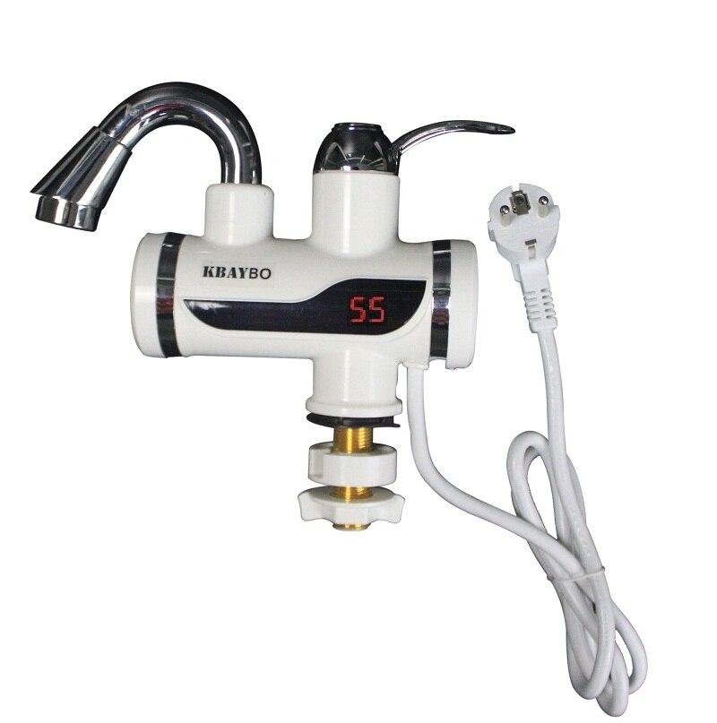 3000 W Boiler Badkamer/Keuken instant elektrische boiler tap LCD ...