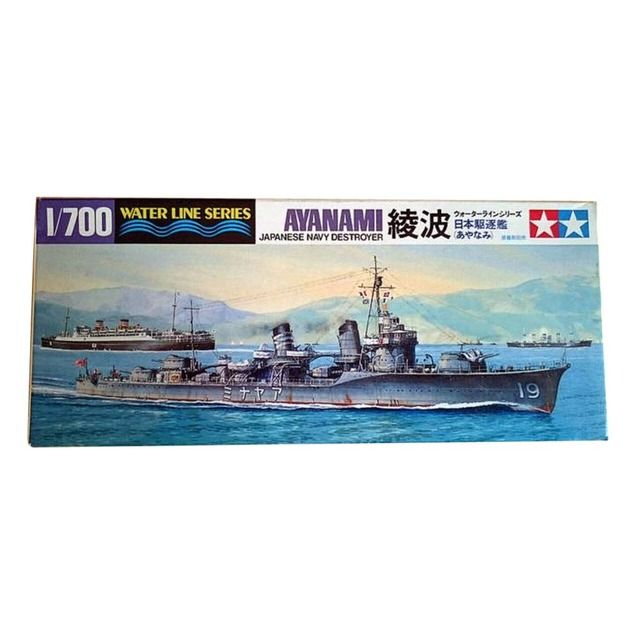 a373407c04d3 OHS Tamiya 31405 1 700 Japanese Navy Ayanami Destroyer DD Assembly Scale  Military Ship Model Building Kits oh