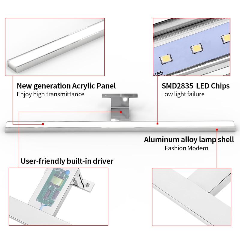 Fensalir 0.6-0.8m Lámpara de pared inodoro 8W / 11W / 13W LED Luces - Iluminación interior - foto 6