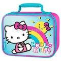 Детская Школа Hello Kitty Обед Сумка Box для Детей Мальчики Милый Мультфильм Lunchbox Lunchbag Пикник Еды Тепловой Мешки