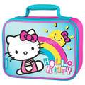 Children School Hello Kitty Lunch Bag Box for Kids Boys Cute Cartoon Lunchbag Lunchbox Picnic Food Thermal Bags