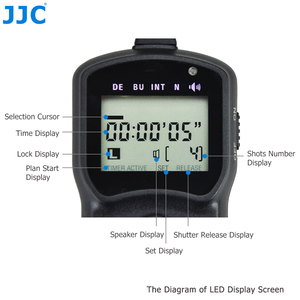 Image 5 - JJC LH Máy Ảnh Multi Chức Năng Có Dây Hẹn Giờ Điều Khiển Từ Xa Dây Cáp Shutter Phát Hành cho PANASONIC DMC G5/DMC G7/DMC G1 /DIGILUX 2