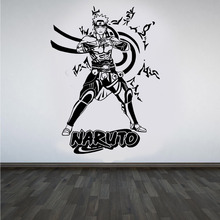 3d poster Naruto Wall Art Decal High Quality Vinyl Wall Stickers